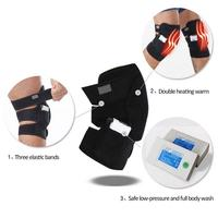 Rechargeable Outdoor Electric Heating Kneepad Knee Brace Heated Thickened Protection Warm Knee Pad