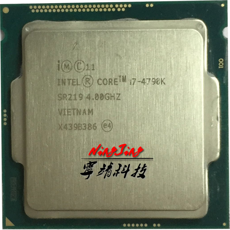Intel Core i7 4790K i7 4790K 4 0 GHz Quad Core Eight Thread CPU Processor 88W