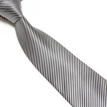 цена на Good Quality  Business Party Dress Tie  Men's New Check Blue Purple Jacquard Woven Silk Ties Mens Neck Tie Striped Ties for Men