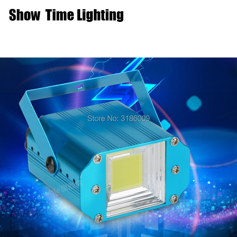 Show Time Promotion 20W COB Strobe Light Auto Voice Control Mode Use For KTV Party Light DJ Club Home Entertainment