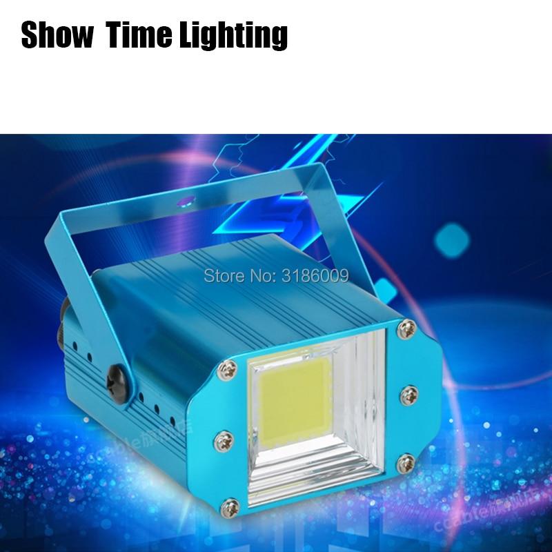 Show Time Promotion 20W COB Strobe Light Auto Voice Control Mode Use For KTV Party Light DJ Club Home Entertainment