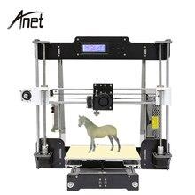цена на Professional Anet 3d printer single nozzle large printing size desktop prusa i3 arcylic 3d printer machine with PLA/ABS filament