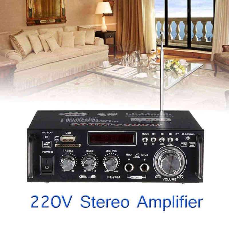 600 Вт дома Усилители звука Bluetooth разъем Усилитель-сабвуфер усилители домашние дома ТЕАТР звук системы мини