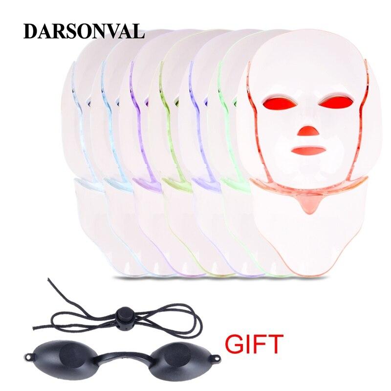 Masque LED Anti-âge Machine LED masques faciaux photothérapie acné solvant élimination des rides beauté du visage Machine soins de la peau beauté