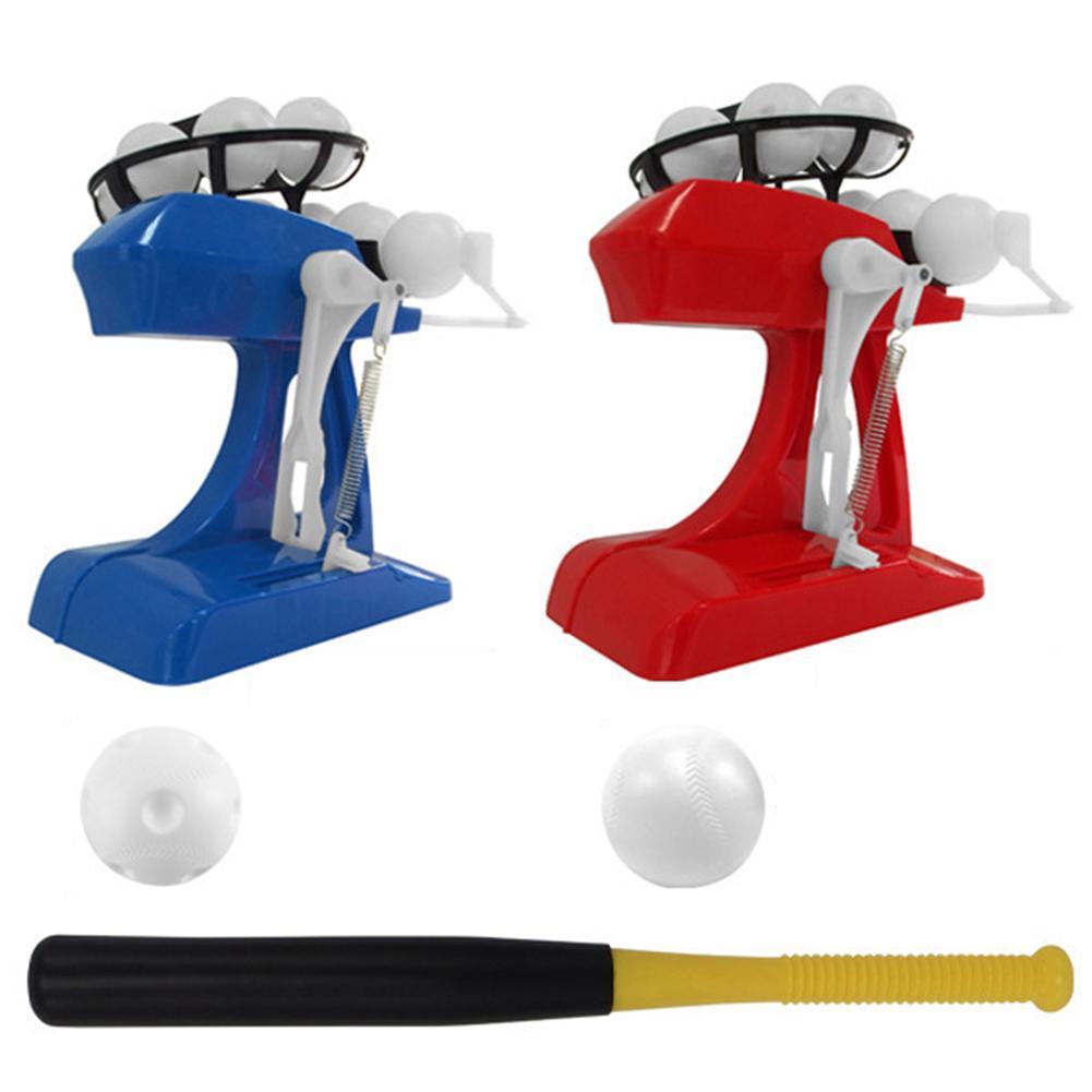 Electronic Mini Child Baseball Pitching Machine Automatic Dispenser Practice Serve Machine Paternity Interactive Toys For Kids