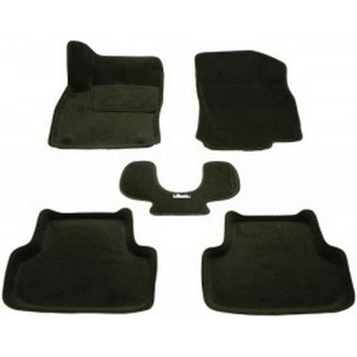 3D carpet BORATEX BRTX-2117 for Audi A3 2012-Black bbq fuka car console gear shift box panel cover trim interior styling sticker carbon fiber fit for audi a4l a5 q5