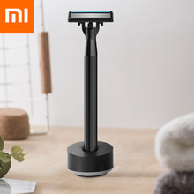 цены Xiaomi H300-6 Shaver Hand-Operated 5-Layer Blade Washable Manual Razor ABS Ergonomic Dry Wet Shaving Machine With 3 Cutter Heads