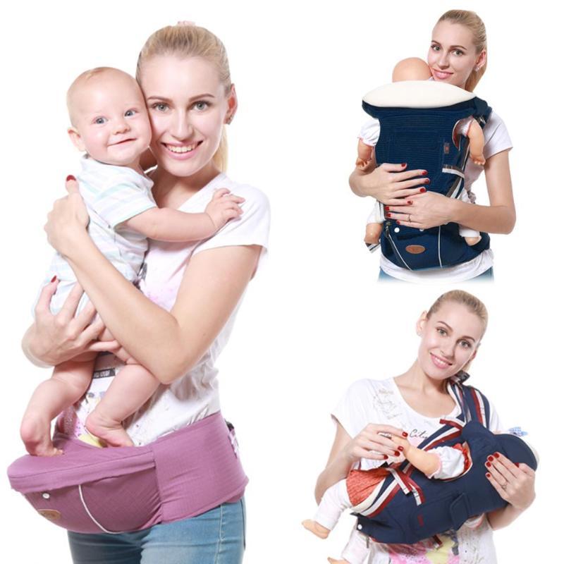 Gabesy Baby Carrier Ergonomic SlingBaby Carrier Ergonomic Carrier Backpack Hipseat Backpack Prevent O-Type Legs Hipseat  Travel