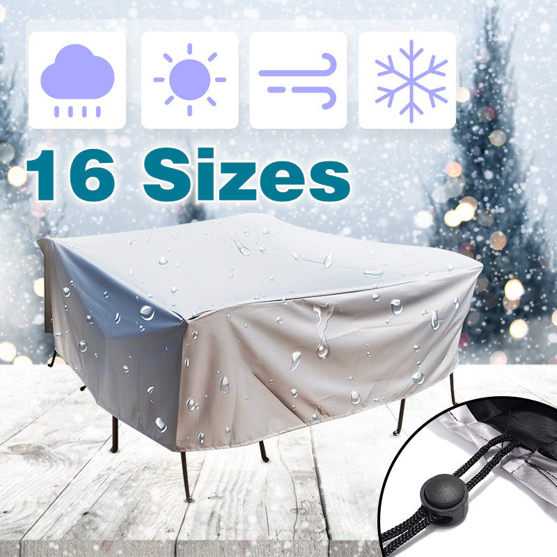 Waterproof Outdoor Patio Garden Furniture Covers Rain Snow Chair cover for Sofa Set Table Chair Dust Proof CoverWaterproof Outdoor Patio Garden Furniture Covers Rain Snow Chair cover for Sofa Set Table Chair Dust Proof Cover