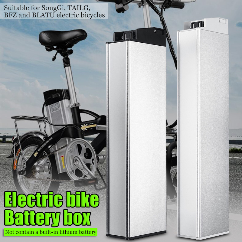 LEORY E bike 48V 60V 18650 Lithium Battery Box Down Tube Electric Bike Battery Storage Box 410*110*63mm/ 470*110*63mm