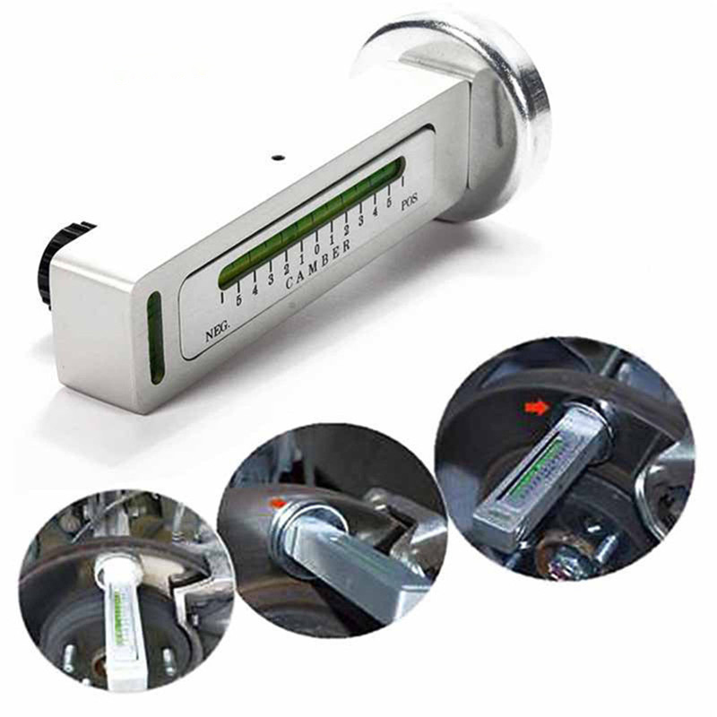 Car Four Wheel Alignment Magnetic Level Gauge Level Gauge Camber Adjustment Aid Tool Magnet Positioning Tool