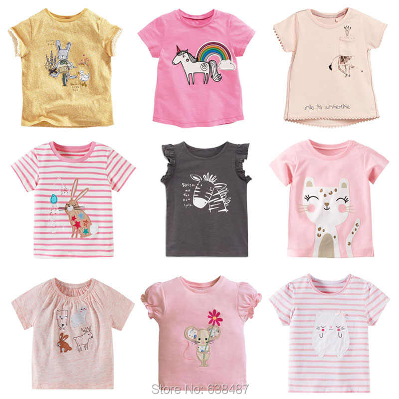 ec350e35f6347 New 2019 Brand Quality 100% Cotton Baby Girls t Shirts Summer Children  Clothing Bebe Short Sleeve Kids T-Shirt Baby Girl Clothes