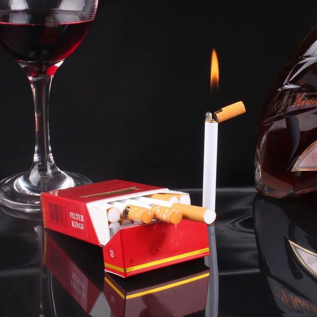 Mini Cool Flame Lighter Cigarette Alike