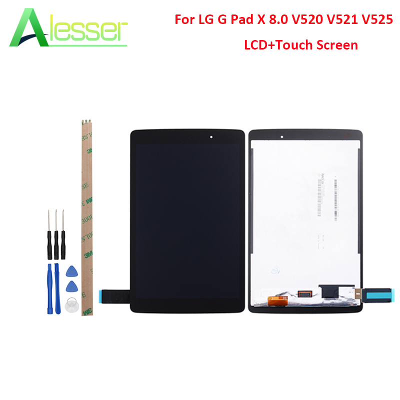 LCD Display Touch Screen Digitizer Replacement For LG G Pad