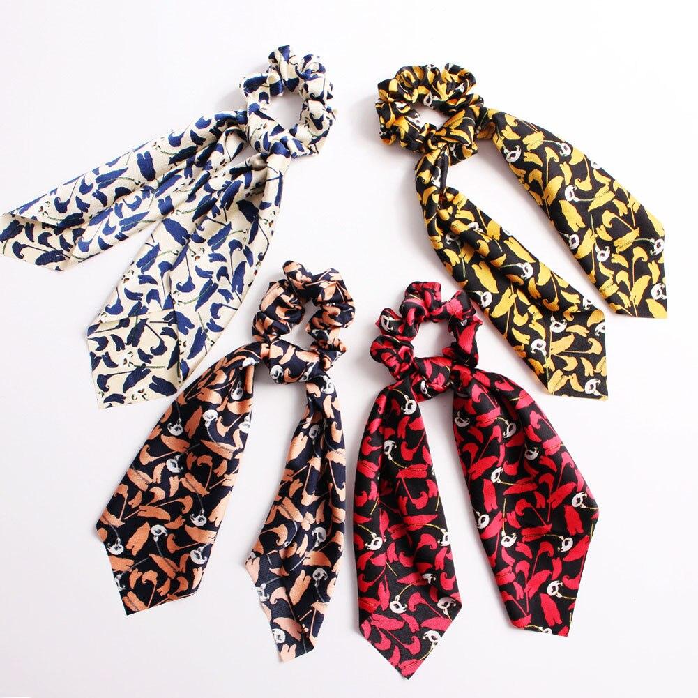 elegant floral leopard streamers