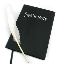 Writing Journal Book Dead-Note Theme Anime Diary Death Cosplay Ryuk Note-Planner Fashion
