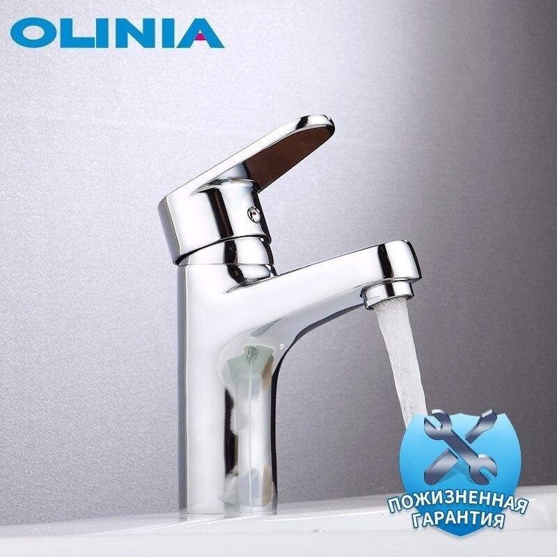 Olinia Bassin Robinets D'eau Conservation Technologie robinet mélangeur D'eau Chaude Et Froide bassin de salle de bain Robinet OL7161