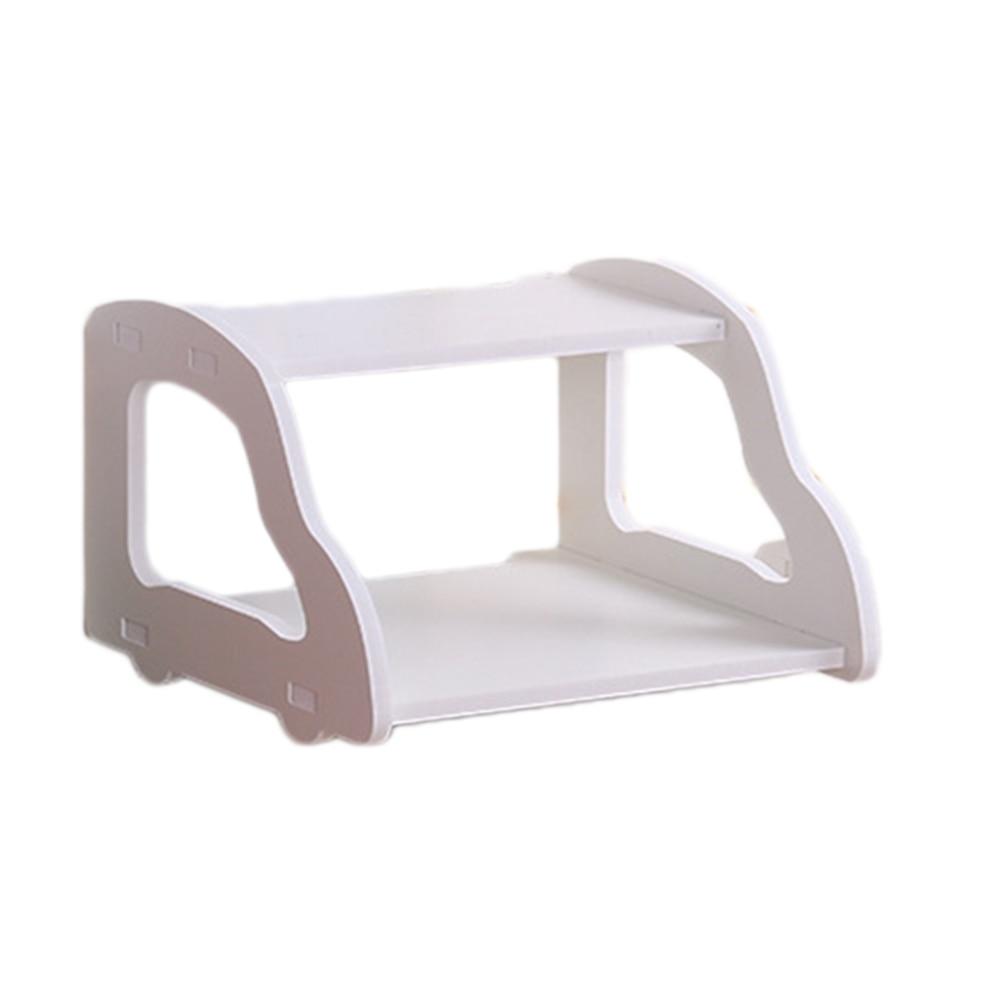 Modestil 1 Pc Schwimm Router Regal Abnehmbare Kreative Lagerung Box 2-tier Auto-förmigen Modem Halter Für Home Dekoration Wasserdicht, StoßFest Und Antimagnetisch
