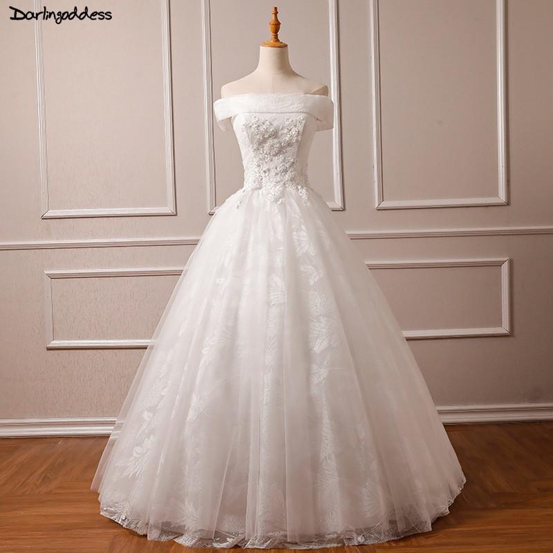 Plus Size Wedding Ball Gowns: Vestido De Noiva Lace Plus Size Wedding Dress 2018 Off
