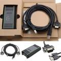 PC adaptador USB Cable adaptador de Cable para Siemens S7-200/300/400 RS485 Profibus/MPI/PPI 9- reemplazo de pin para Siemens 6ES7972-0CB20-0XA0