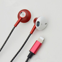 MGHUAKAI New In ear Earphone Line Control Headset For Iphone 6 7 8 Phone