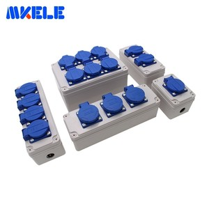 Image 5 - Plastic Universal Waterproof Socket Box Household Socket Junction Box Outdoor Rainproof  Box With Cable Glands Wire Connectors