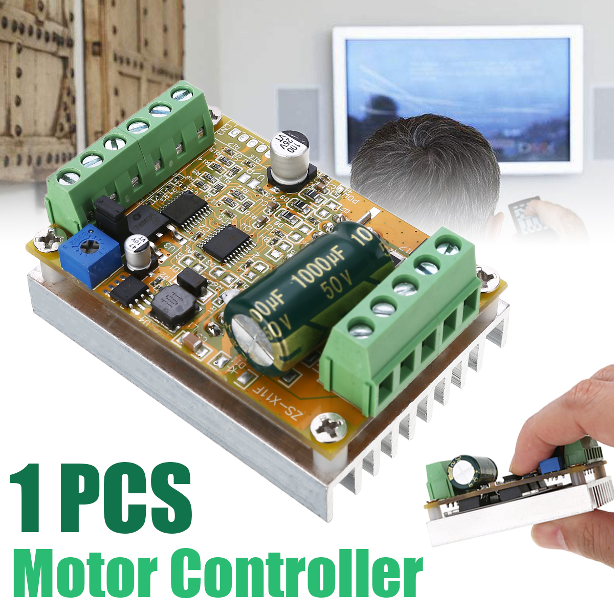 DC 5-36V Three Phase Sensorless Brushless Motor Speed Controller Without Hall For BLDC Motor Controller For Motor PartsDC 5-36V Three Phase Sensorless Brushless Motor Speed Controller Without Hall For BLDC Motor Controller For Motor Parts