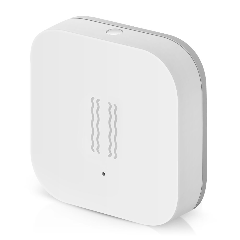 Aqara Smart Vibration Sensor Zigbee Motion Shock Sensor Detection Alarm Monitor Built In Gyro For Home Safety MI Home
