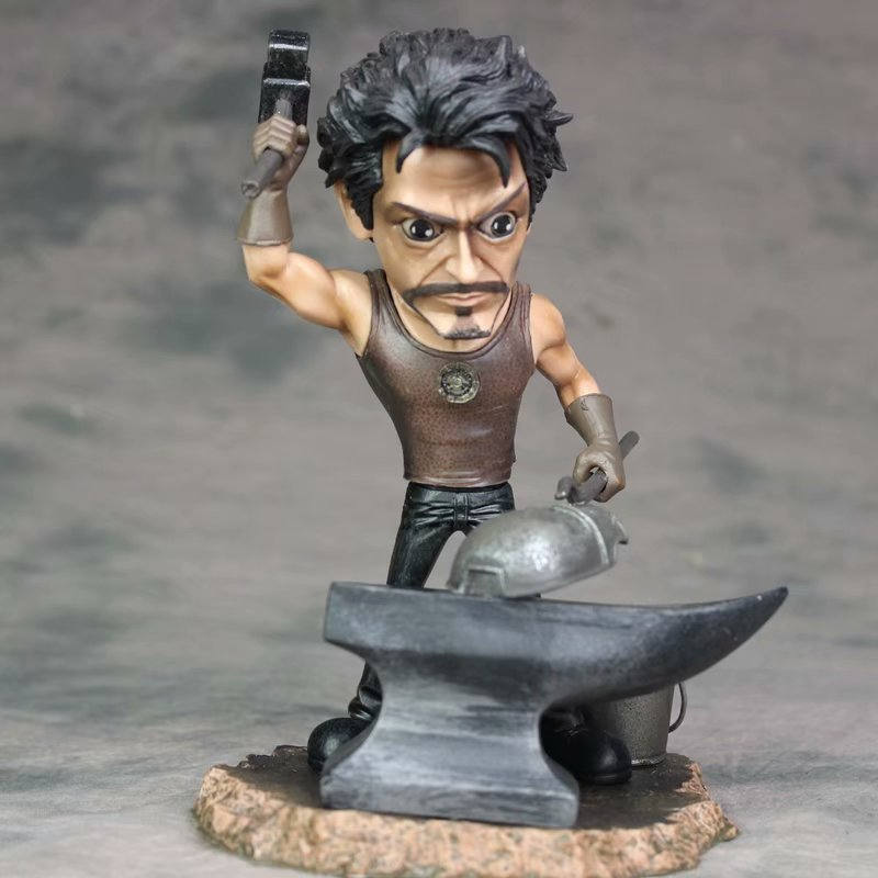 20 cm fer homme Tony Stark PVC figurine modèle Statue Marvel Avengers figurine à collectionner modèle jouets pour enfants