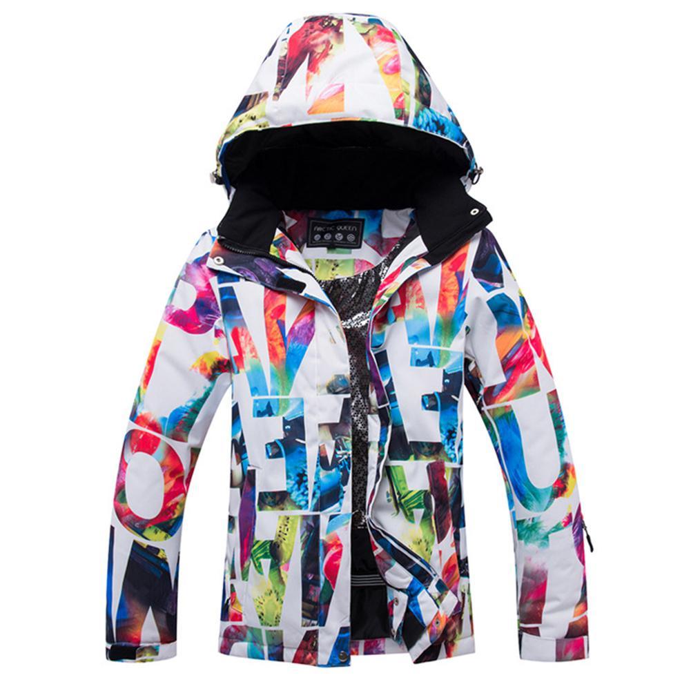 Mounchain femmes extérieur Ski neige veste manteau coupe-vent imperméable chaud épaissi veste S, M, L, XL