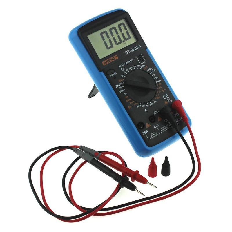 Anonyme VC60B 1000V Digital Auto Range Insulation Resistance Meter Tester Megohmmeter Megger High Voltage LED Indication 1999 Counts VC60B