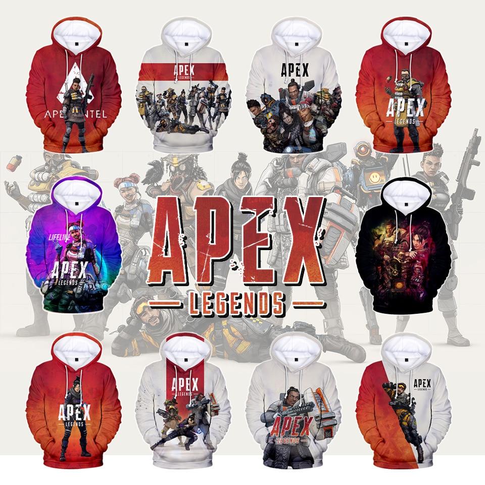 The New 3D Hoodies Apex Legends Hoodies Men Women 2019 Fall Fashion New print Apex Legends Sweatshirts 3D Hoodies Men's