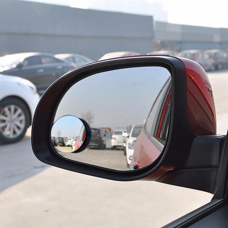 1 Pcs 360 Wide Angle Round Convex Mirror Auto Wide Rear View Small Round Mirror Car Vehicle Side Blindspot Blind Spot Mirror