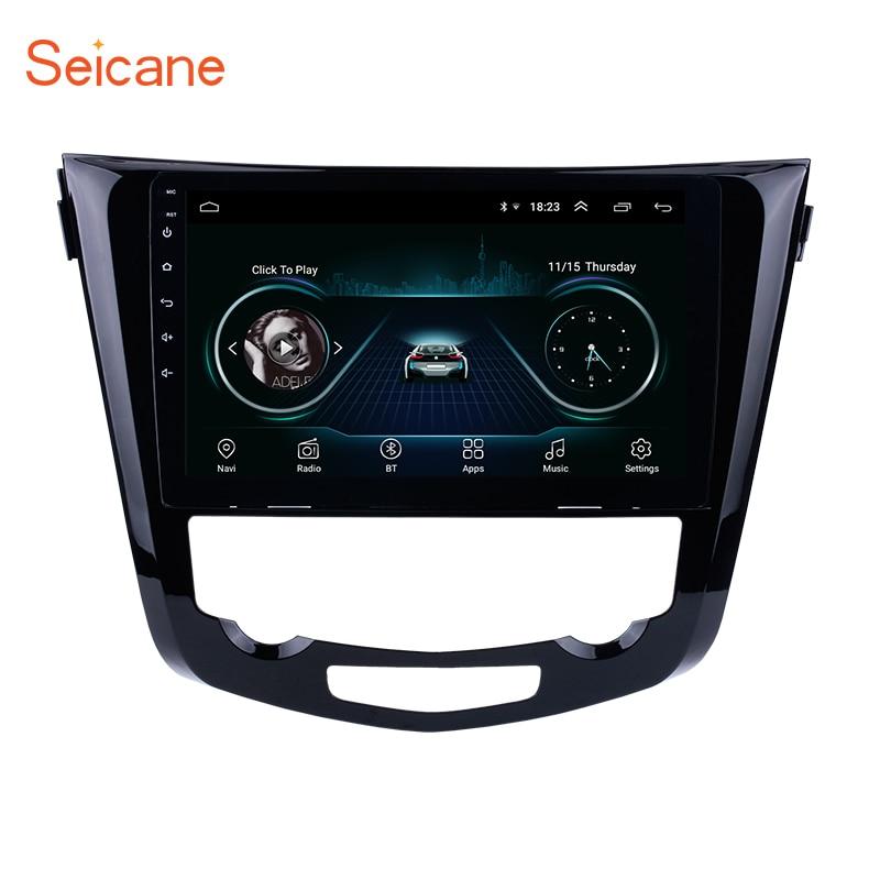 Seicane Android Núcleo 8.1 Quad 10.1 Polegada Car Radio GPS Navi Multimedia Player Para 2013 2014 2015 2016 Nissan QashQai x-Trail