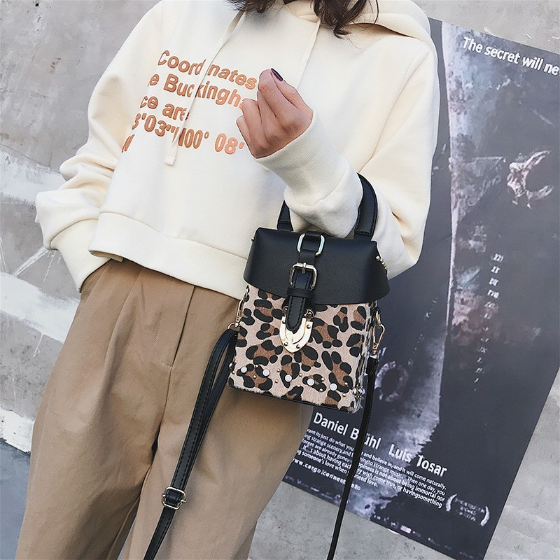 Fashion Leopard Bags Handbags Women Famous Brands Crossbody Bags For