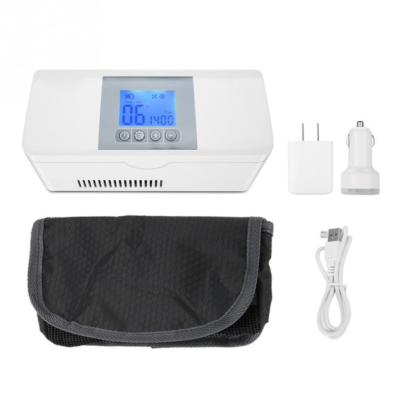 цена Insulin Refrigerator Cooler Medical Travel Insulin Storage Box Cool Case Bag Medicine Interferon Insulin Pen Small Refrigerator