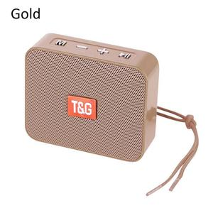 Image 4 - Portable Mini Speaker Innovative Square Wireless Bluetooth Card TG166 Support Micro TF Card Player Stereo Hd Bass Sounds Devices