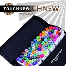 TOUCHNEW Authentic oily two-headed mark pen six generations upgrade 36 60 80 color comic fine markers manga drawing draw