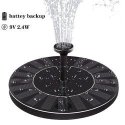 2019 nova fonte solar bomba de água para jardim lagoa piscina tanque de peixes paisagem jardim energia solar fonte decorativa 9 v 2.4 w