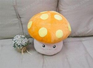 Image 4 - MapleStory peluş oyuncak 35cm mantar krallık çiçek mantar figürü cosplay bebek sevimli yüksek kaliteli yumuşak peluş kesim şeyler yastık