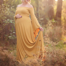 Suit-dress Pregnant Woman Summer Wear Strapless To Mop The Floor Even Clothes Longuette Return Ancients Big Sizes Skater