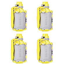 4Pcs Gel Ball Bombe T238 V2 Große Kapazität Wasser Perlen Bombe Spielzeug mit Zeit verzögert Funktion für Nerf paintball BBs Airsoft Wargame