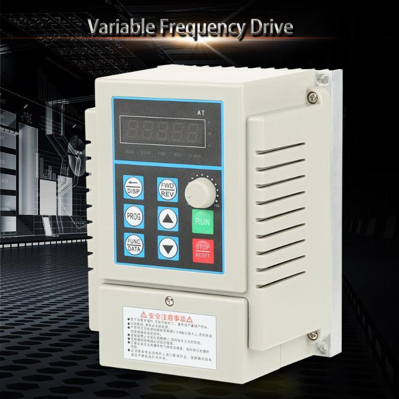 450W 220V Single to Three Phase Variable Frequency Converter Drive Inverter450W 220V Single to Three Phase Variable Frequency Converter Drive Inverter