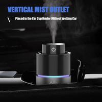 Carro umidificador pulverizador 2 em 1 usb silencioso veículo difusor de óleo essencial ambientador portátil casa aromaterapia máquina|Umidificador de ar para carro| |  -