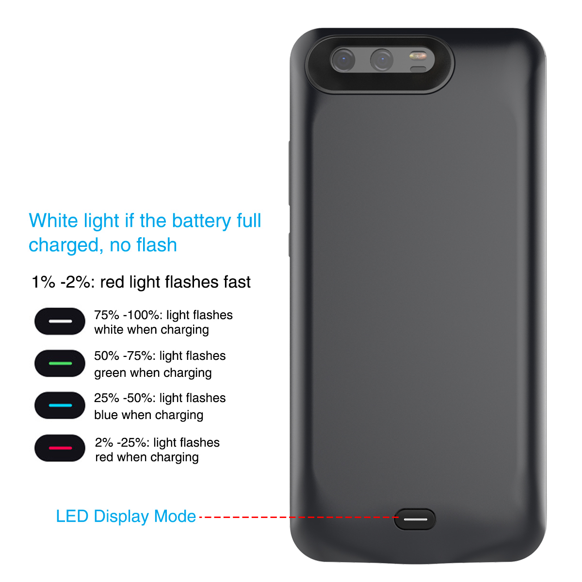 <font><b>Battery</b></font> Charger <font><b>Case</b></font> For <font><b>Huawei</b></font> <font><b>P10</b></font>/<font><b>P10</b></font> Plus 5500mAh Power Bank Charging <font><b>Case</b></font> Powerbank Charger <font><b>Case</b></font> For <font><b>Huawei</b></font> <font><b>P10</b></font>/<font><b>P10</b></font> Plus image