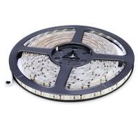 5 м SMD 2835 600 светодиодный 12 В 72 Вт 7500LM IP65 пылезащитный морской светодиодный теплый белый светодиодный ленточный светильник лампа лента лампоч...