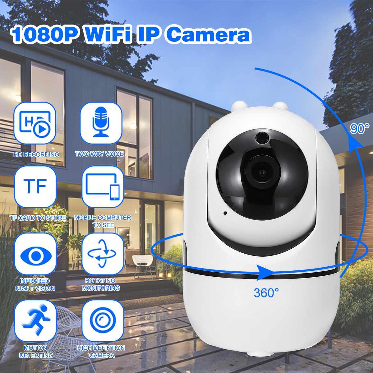 Cloud Wireless IP Camera Intelligent Auto Tracking Of Human Home Security Surveillance CCTV Network Mini Wifi CamCloud Wireless IP Camera Intelligent Auto Tracking Of Human Home Security Surveillance CCTV Network Mini Wifi Cam