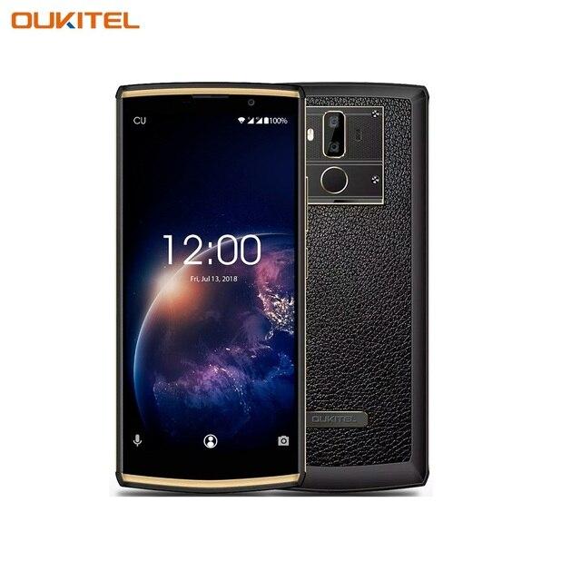 "Смартфон OUKITEL K7 Power Black превосходный экран 6"" с разрешением 2160Х1080, основная камера 13+2 Мп, Face ID, батарея 10000 мАч."