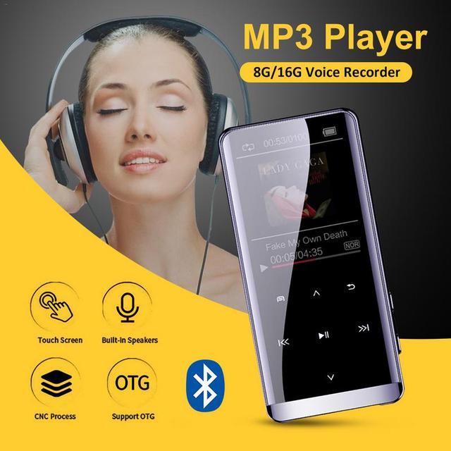MP4 Máy Nghe Nhạc Bluetooth M13 Bluetooth MP3 Mini MP4 Lossless HIFI 5D Màn Hình Cảm Ứng Xách Tay Mới MP5 Walkman Âm Nhạc Máy Nghe Nhạc Dropshipping