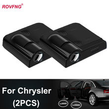 Rovfng автомобильная светодиодная подсветка двери для chrysler